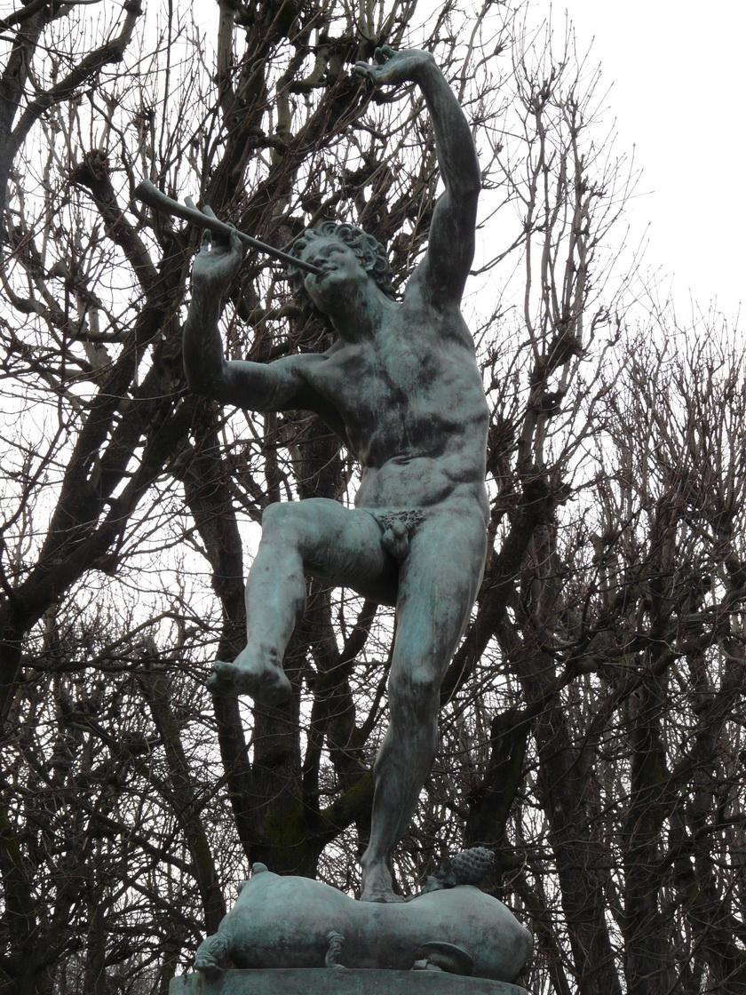 LEQUESNE, Eugène (1815-1887) - Faune dansant